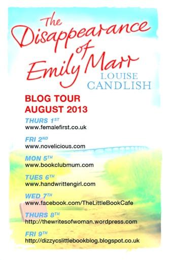 Emily Marr blog tour poster