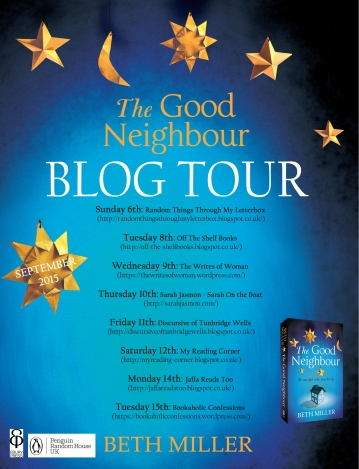 The Good Neighbour blog tour banner