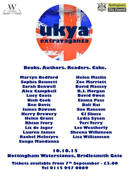 UKYAX October Poster FINAL