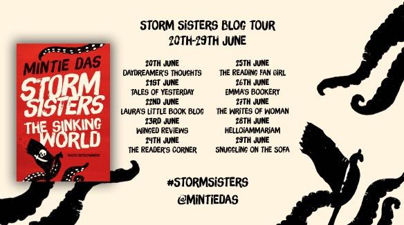 Storm Sisters blogtour